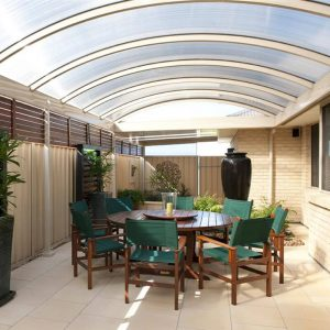 build a patio in your home